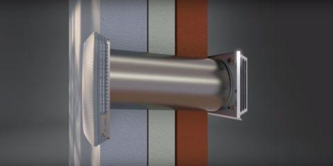cwl d 70 soojustagastusega lokaalne ventilatsiooniseade. Black Bedroom Furniture Sets. Home Design Ideas