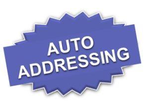 V5X auto adressing